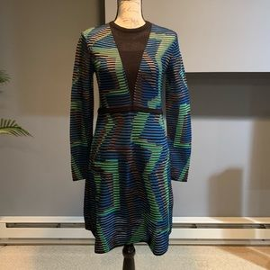 Missoni Multi Color Knit Dress